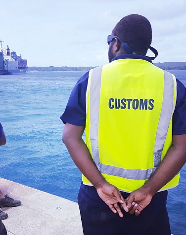 We are an organization established to protect Vanuatu's border, facilitate trade and collect revenue.
